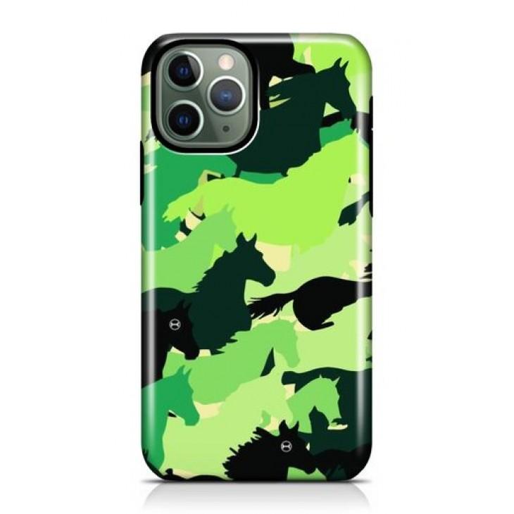 Funda para Iphone Verde Camuflada