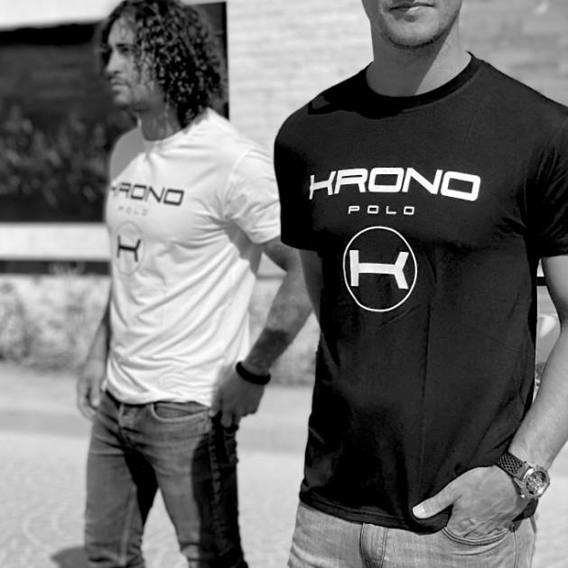 Camiseta Negra Esencial Krono