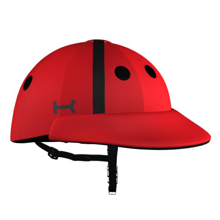Casco Rojo de Polo