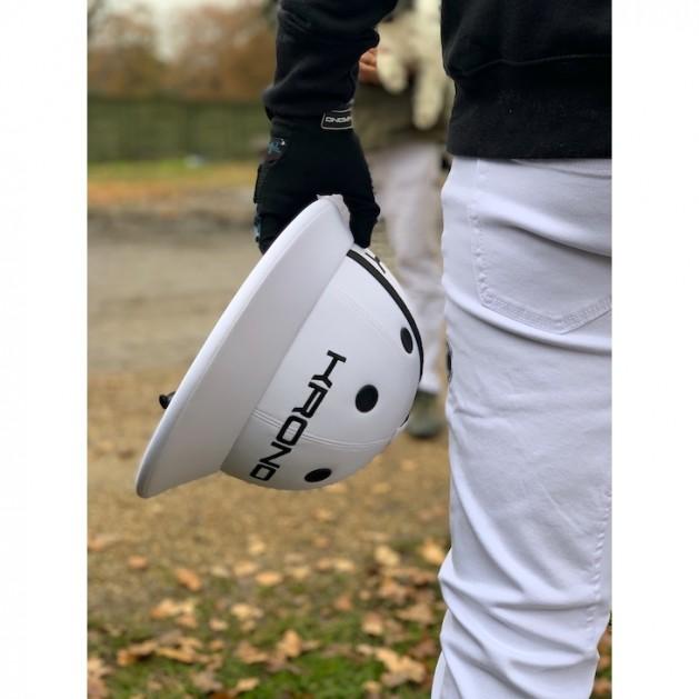 Casco Blanco de Polo