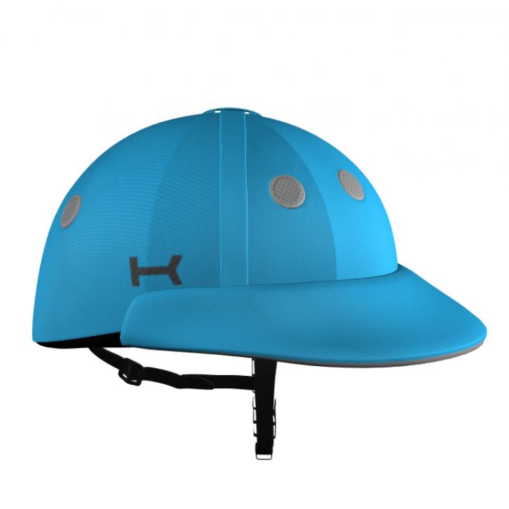 Casco Azul de Polo