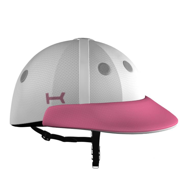 Rosado casco de Polo